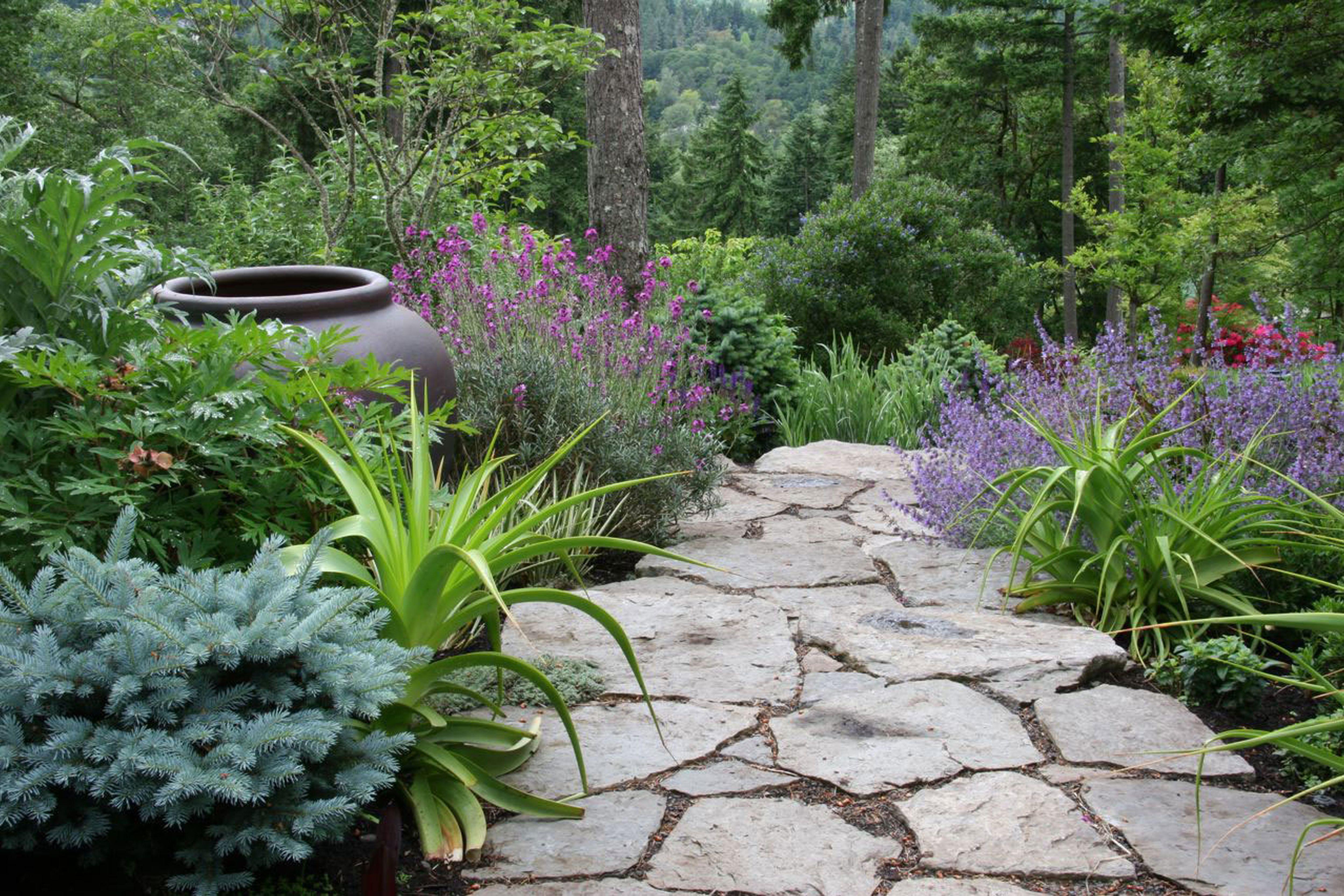 backyard landscape rock design cute cool backyard ideas cute
